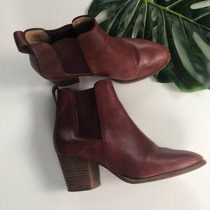Madewell Chunky Heel Ankle Boots